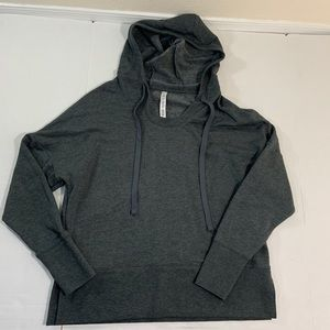 ALO Yoga Logo Hoodie Soft Sweater EUC M